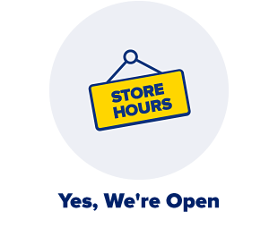 Yes we're open!
