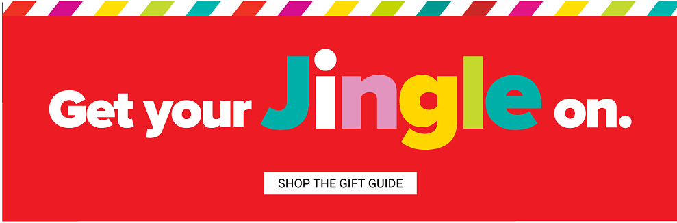 Get your Jingle on. Shop the Gift Guide.