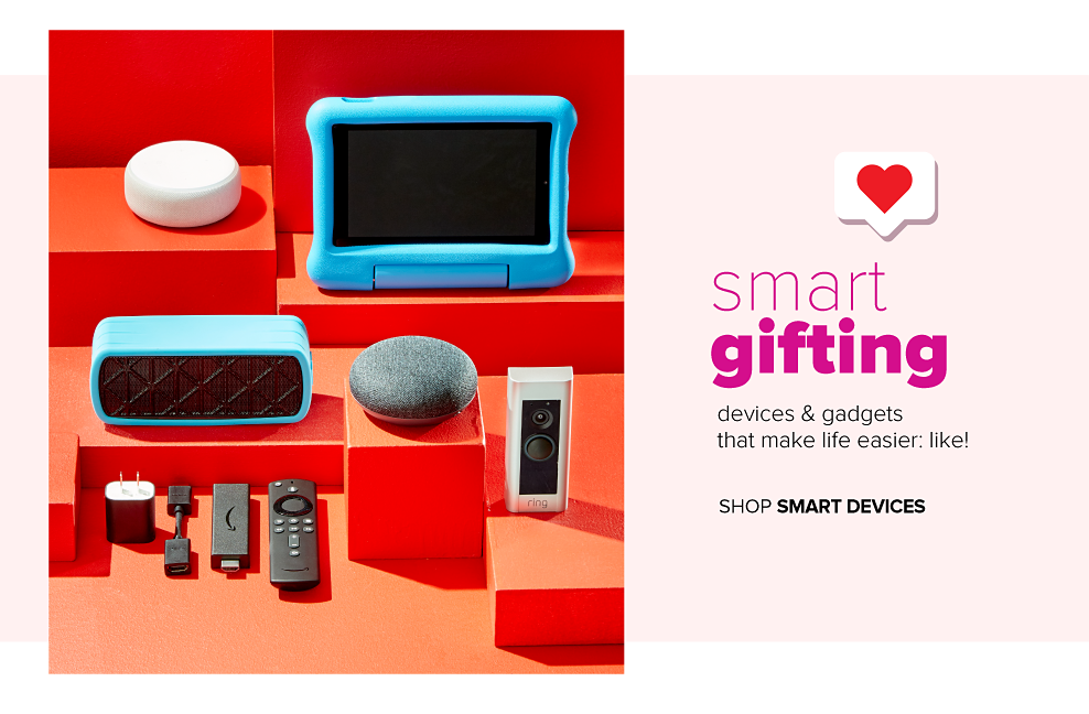 A variety of smart devices. Smart gifting. Devices and gadgets that make life easier, like! Shop smart home.