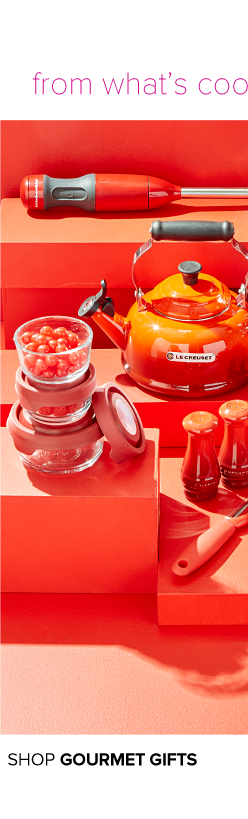 From what's cooking to looking good, they're sure to like these. A variety of small appliances and kitchen essentials. Shop gourmet gifts.