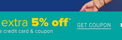 Plus, today only! Cardholder savings day. Take an extra 5% off off with Belk rewards credit card and coupon. Get coupon. Not a cardholder? Apply now.