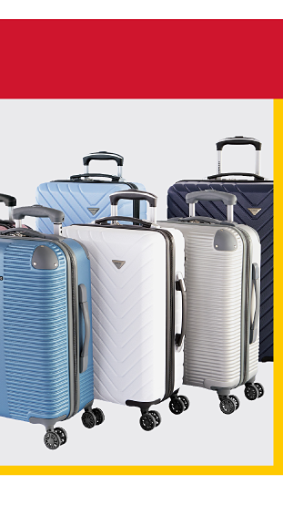 Deals of the day. 75% off luggage featuring Samsonite & Delsey. Shop now. While quantities last. Not coupon eligible. Excludes Tumi & Hartmann.