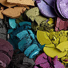 An assortment of eyeshadow shades. Shop eyeshadows.