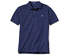 A purple Polo Ralph Lauren polo shirt. Shop polos.