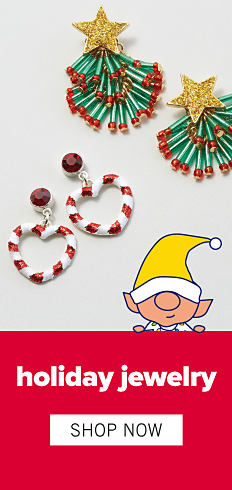 Holiday Jewelry. Shop Now.