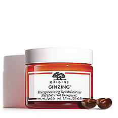 A small jar of Origins Ginzing skin care product. Shop Ginzing.