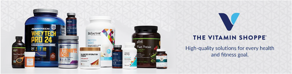 The Vitamin Shoppe. High-quality solutions for every health and fitness goal.