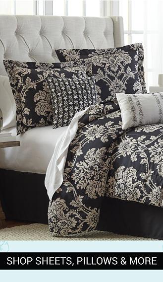 Shop sheets, pillows & more.