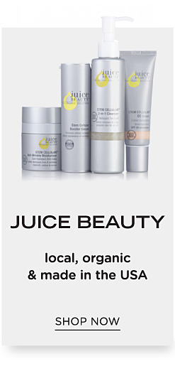 An assortment of Juice Beauty products. Juice Beauty. Local, organic & made in the U.S.A. Shop now.