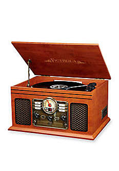 A vintage, record style music player. Shop electronics.