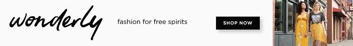 wonderly | fashion for free spirits | shop now