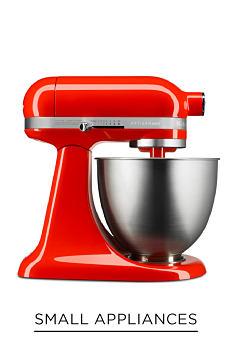 A red KitchenAid mixer. Shop small appliances.