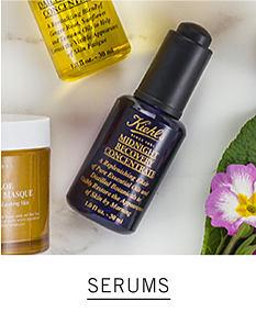 bottles & jars of Kiehl's Since 1851 serums. Serums. Shop now.