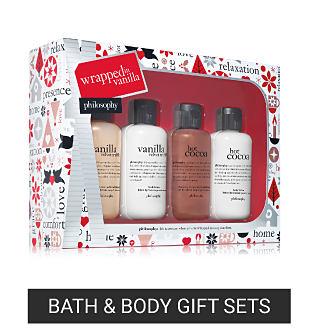 A philosophy bath & body gift set. Shop bath & body gift sets.