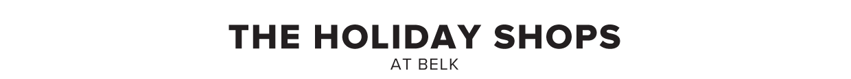 Holiday shops at Belk.