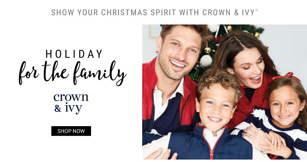 Crown & Ivy. Shop now.
