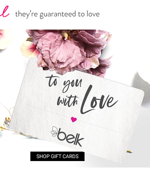 An iphone with a picture of a woman holding up a Belk gift card. A Be Mine Belk gift card.