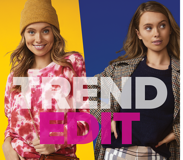 TrendEdit. Fashion. Right. Now. Shop Now