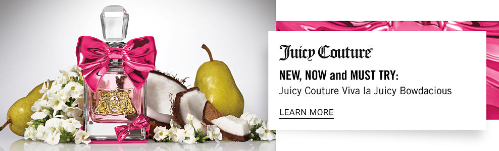 A bottle of Juicy Couture Bowdacious. Juicy Couture. New, Now, and Must Try: Juicy Couture Viva la Juicy Bowdacious. Learn more.