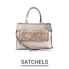 A metallic color satchel. Shop Satchels.