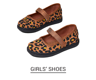 Leopard print girls shoes. Shop girls shoes.
