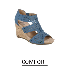 Shop comfort shoes.
