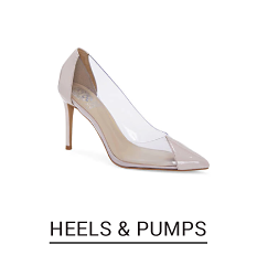Shop heels and pumps.