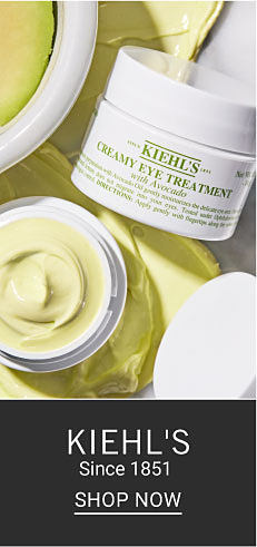 Containers of Kiehl's eye treatment. Kiehl's Since 1851. Shop now.