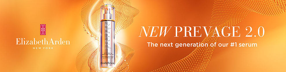 New Prevage 2.0. The next generation of our number one serum. Elizabeth Arden New York.