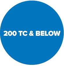 200 TC and below