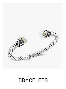 A silver bracelet. Shop fine jewelry bracelets.