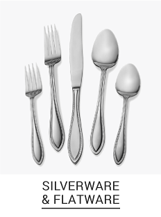 An assortment of silverware. Shop silverware & flatware.