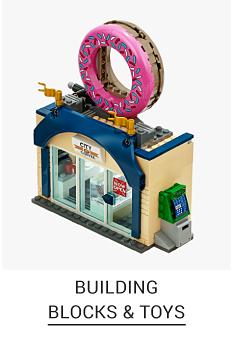 A toy playset. Shop building blocks & toys.