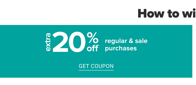 How to Win at Belk. Extra 20% off regular & sale purchases. Get coupon.