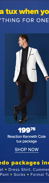 Reaction Kenneth Cole tux package
