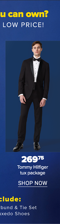 Tommy Hilfiger tux package