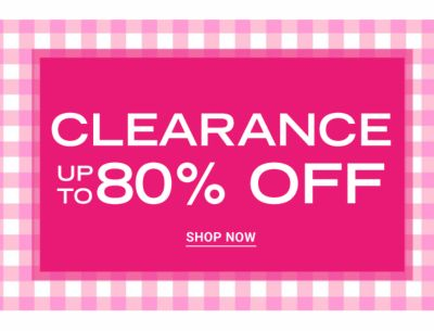 Clearance - UP to 70% off. Shop Now.