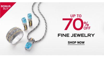 Bonus Buy - Up to 70% off fine jewelry. Shop Now.