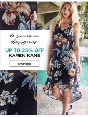 Do Spring in Designer - Up to 25% off Karen Kane. Shop Now.