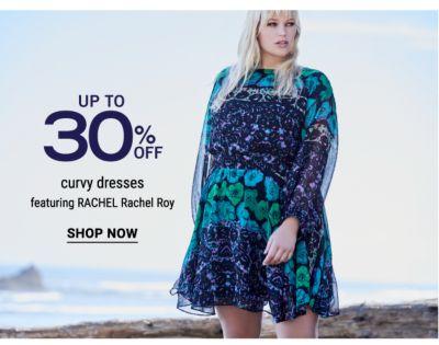 Up to 30% off curvy dresses featuring RACHEL Rachel Roy. Shop Now.