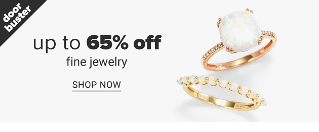 Two different styles of diamond & gold rings. Doorbuster. Up to 65% off fine jewelry. Shop now.