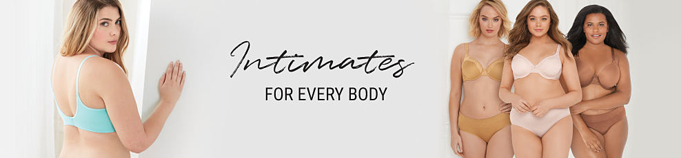 women's plus intimates