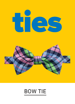 Ties. A green, navy and pink bow tie. Shop bow ties.