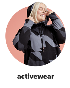 A woman in a hoodie with varying shades of gray in a pixelated camo pattern. Activewear.