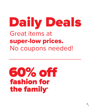 Daily Deals. Great items at super low prices. No coupons needed!