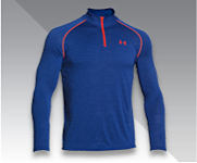 Blue Under Armour men's shirt.