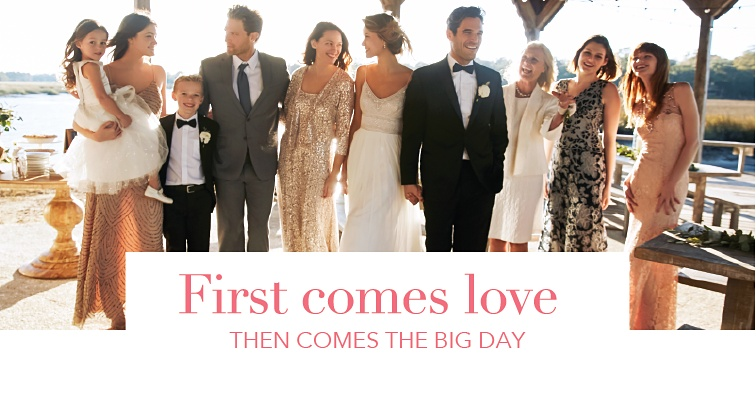 First Comes love. Then comes the big day.