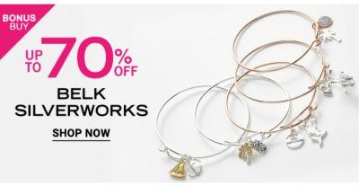 Bonus Buy - Up to 70% off Belk Silverworks. Shop Now.