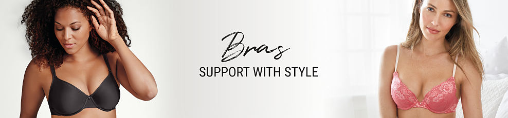 Bras - support with style