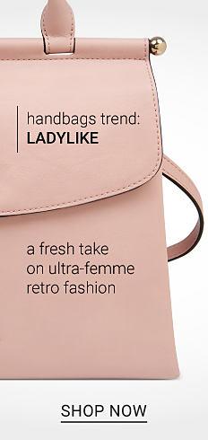 78c68b5c3c1b A peach leather handbag. Handbags Trend. Ladylike. A fresh take on ultra  femma
